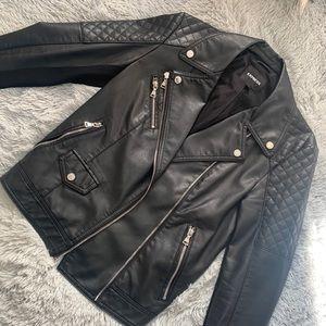 Black leather jacket - Express